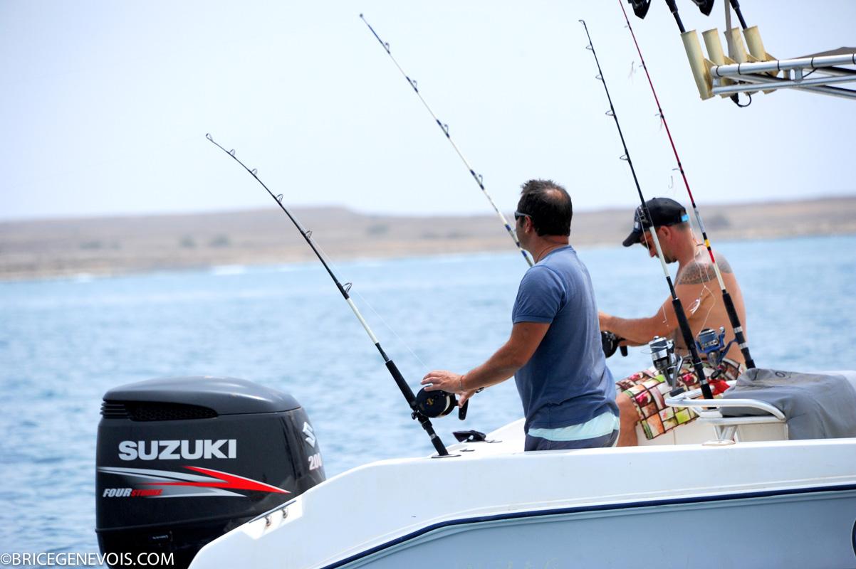 pêche à la ligne cap vert